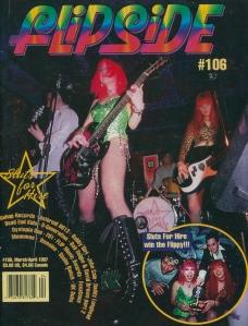 Sluts for Hire in Flipside No. 106 April 1997