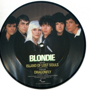 "Blondie, ""Island of Lost Souls"" 7"" single 45, Chrysalis, 1982"