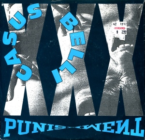 "Casus Belli (featuring Kristen Pfaff of Hole and Janitor Joe), ""Punishment"" 7″ single 45, Amphetamine Reptile No. 29, 1990"