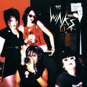"The Winks self-titled 7"" single 45, Super Secret records, 2003, Austin"