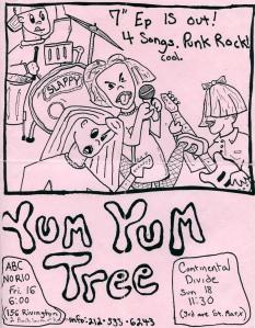 Yum Yum Tree at ABC No Rio and Continental Divide, NYC, NY 1994