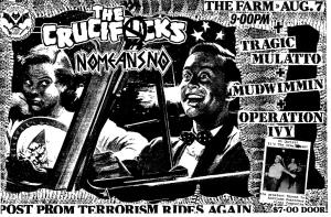 Crucifucks, Tragic Mulatto, Mudwimmin, and Operation Ivy at The Farm in San Francisco, CA