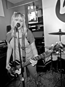 Ex-Girlfriends at Vinyl Edge in Houston, TX, 13 April 2013, by David Ensminger