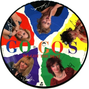 "Go Go's ""We Got the Beat"" Limited Edition single, 1981/2, IRS"