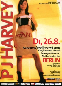 PJ Harvey at the Museums Festival, Berlin, Germany, 2003