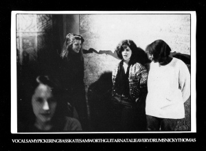 Fire Party self-titled EP, Dischord No. 28, 1988 photo by Cynthia Connolly