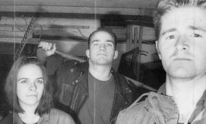 """Jawbox (with Kim Coletta) """"Novely"""" cassette, inner sleeve, Dischord 69C, 1992"""
