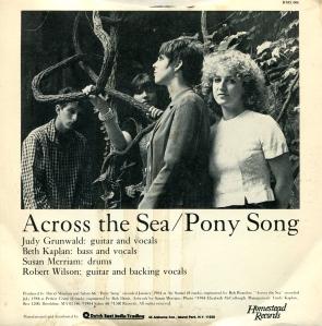 "Salem 66 ""Across the Sea"" 7"" single 45, Homestead Records 006, 1984"