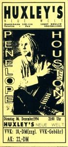 Penelope Houston in Berlin, Germany 1994