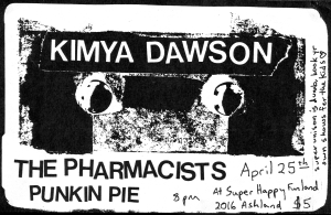 Kimya Dawson and Punk Pin (with Rosa) at Super happy Funland in Houston, TX