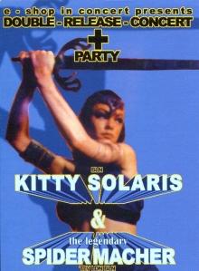 Kitty Solaris at Pfefferbank, Berlin, Germany, 2004