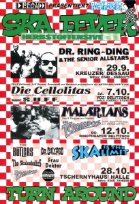 Ska Fever with Die Cellolitas (all girl ska)  in Delitzsch, Germany