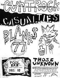 Cunt Rock (with Kendra Pfahler of Voluptuous Horror of Karen Black) at Pool Bar, 1991