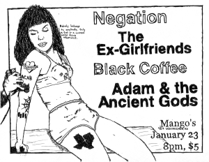 Ex-Girlfriends and Negation at Mango's in Houston, TX, 2013