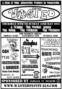 Wasted Festival 2005 with Penetration, Rezillos, Avengers, Toyah, and Texas Terri Bomb!