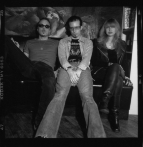 Zero Child, with Tara McMunn and site editor David Ensminger, middle, NYC, 1996