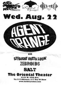 Straight Outta Luck (with Natalie McFall) at the Oriental Theater in Denver, CO