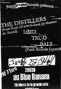 The Distillers (with Brody Armstrong) at Blue Banana in Lyon, France