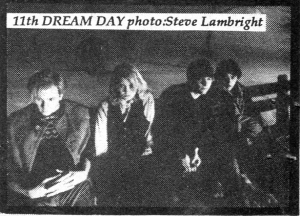 11th Dream Day (with jant Bean), Maximum RocknRoll No. 44, Jan. 1986