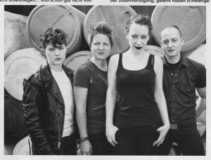 The Shondes (with Louisa Rachel Solomon), Trust fanzine, Dec 2013 /Jan 2014