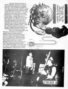 Tribe 8 profile, Ruckus fanzine