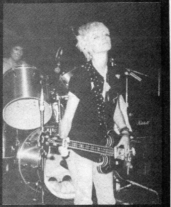 Unseen Force (Greta Brinkman of Moby, L7, Debbie Harry Band), Maximum RocknRoll, No. 44, 1986