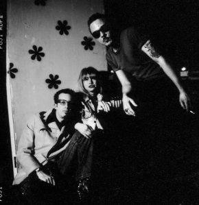 Zero Child, with Tara McMunn and site editor David Ensminger, middle, Brooklyn, 1996