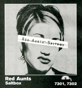 "Red Aunts ""Salt Box"" advert, Epitaph records, Punk Planet, No. 15, Oct/Nov 1996"