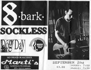 8 Bark (with Victoria Dakarian) at Marti's in Mankata, MN