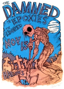 The Epoxies (with Roxy Epoxy) at Harlow's in Sacramento, CA, 1996, provided by Roxy Epoxy