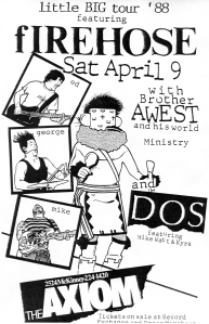 Dos (with Kira Roessler)  at the Axiom, 1988, provided by Dano Thompson