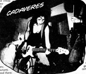 Cadaveres (Argentina), from Maximum RocknRoll No. 147
