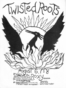 Twisted Roots at the Roxy with Agent Orange, Minutemen, Red Cross, and more, 1982