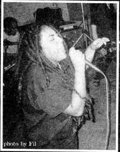 Anti-Product (with Taina Asili), Deranged Records advert, Heart Attack fanzine, No. 35, 2002