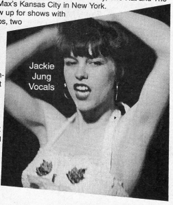 The Sillies (with Jackie Jung), Maximum RocknRoll No. 141, Feb, 1995