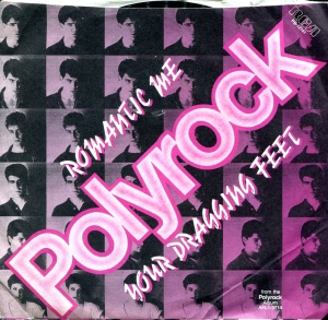 "Polyrock (with Catherine Oblasney) ""Romantic Me"" 7"" single 45, RCA Records, 1980"