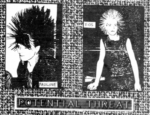 Potential Threat (with Pauline), Maximum RocknRoll, Jan. 1985 No. 21