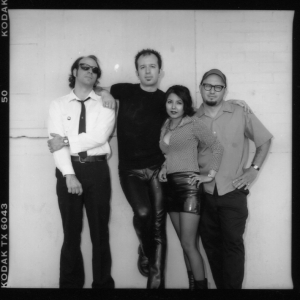 Magnetic Four (with Gina Miller), by Lana McBride, early 2000s