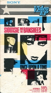 "Siouxsie and the Banshees ""Once Upon a Time"" Video EP, Sony 1983"