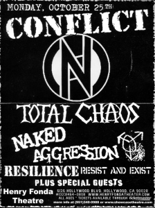 Naked Agression (with Kirsten Patches) at Henry Fonda Theatre, Hollywood, CA