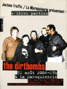 The Dirtbombs (with Ko Melina) in Paris, 2004