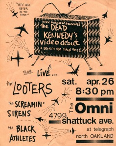 The Screamin' Sirens at The Omni, Oakland, CA, 1986