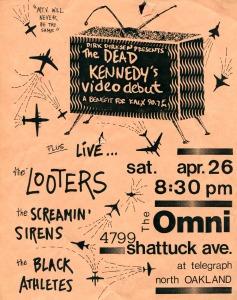 The Screamin' Sirens at The Omni, Oakland, CA, 1986
