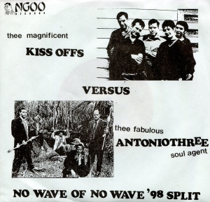 "Kiss Offs (with Katey Jones) ""No Wave of No Wave '98 Split"" single, NGOO Records, 1997"