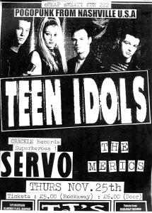Teen Idols (with Heather) at TJs, Newport, Wales, UK