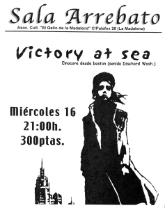 Victory at Sea at Sala Arrebato, Zaragoza, Spain