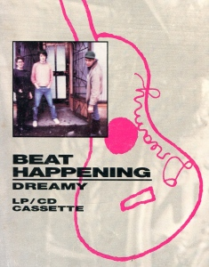 Beat Happening (with Heather Lewis), Dreamy advert, Sub Pop, Forced Exposure, No. 17