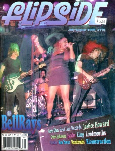The Bellrays (with Lisa Kekaula), Flipside, No. 119, July-August 1999