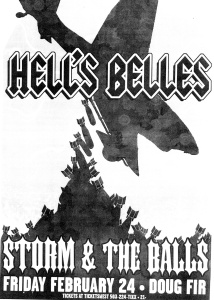 Hell's Belles at Doug Fir in Portland, OR