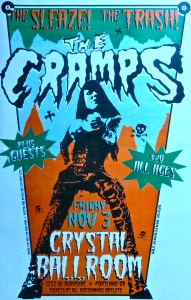 The Cramps at the Crystal Ballroom, Portland, OR